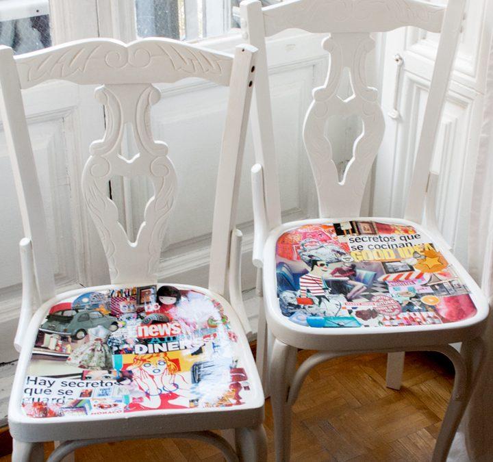 Proceso de restauración de sillas: un cambio de look total