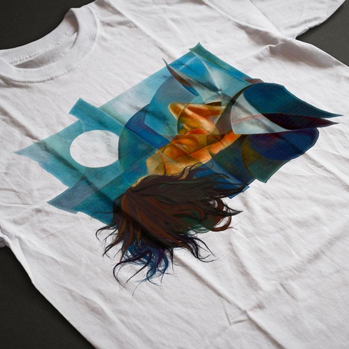 Camiseta Geometría