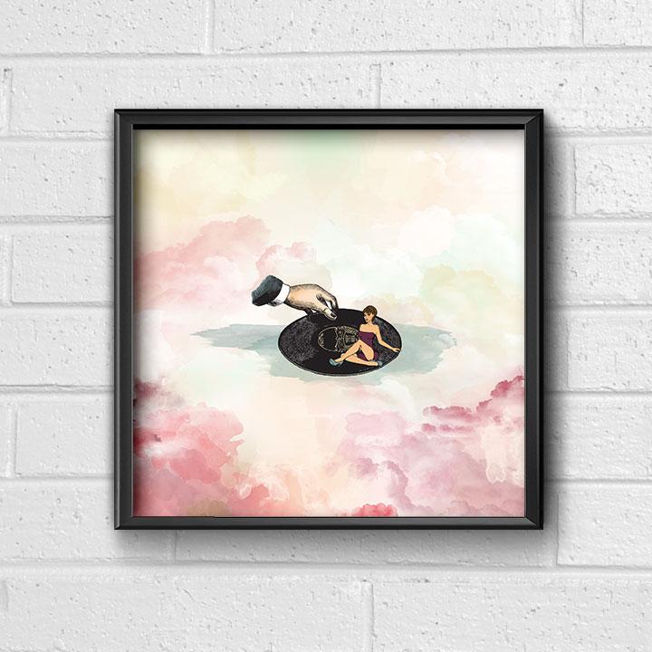 Framed Poster MUSIC