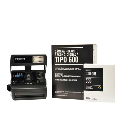 Cámara Polaroid 80'S + Película
