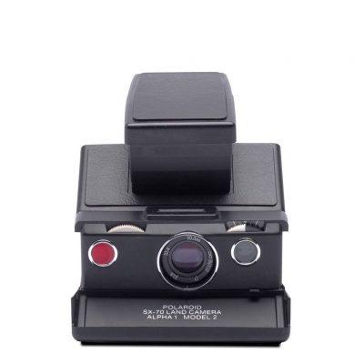 Cámara Polaroid SX-70 Black Kit +2 Películas