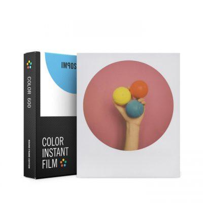 Película Color 600 - Round Frame