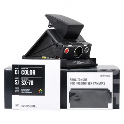 Polaroid SX70 Black Kit