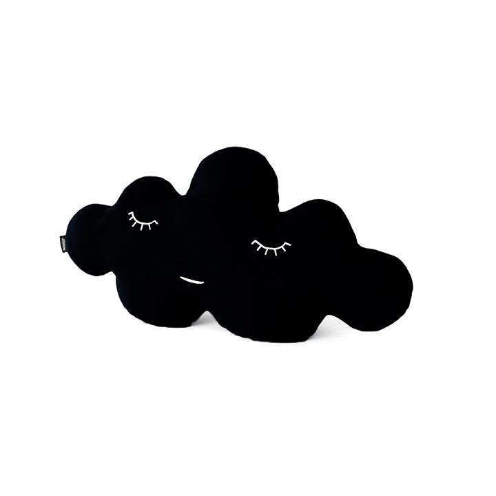 Cojín Nube Negro L