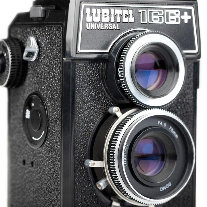 Lumitel 166+ Lomography Camera