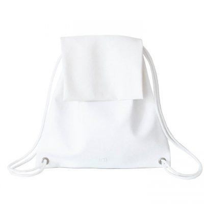 Bolso Mochila Blanco - BOOFLAP White