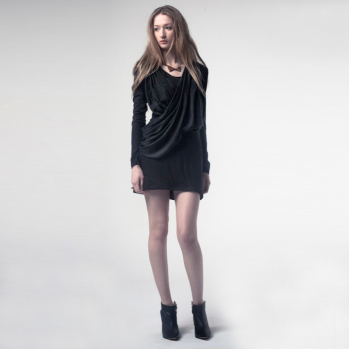 Drape Dress - Rebel Root