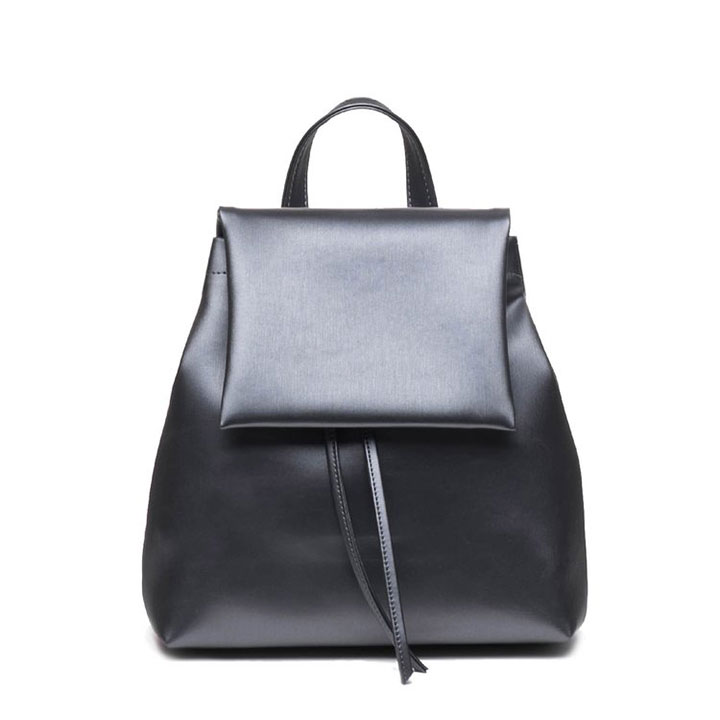 Mochila Plata Oscura - Mini BOO Backpack Silver