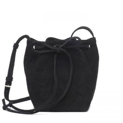 Bolso saco ante negro
