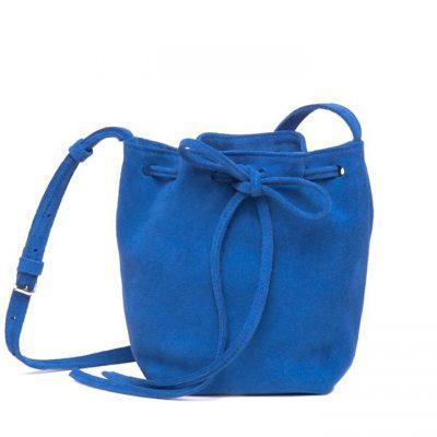 Bolso saco ante azul