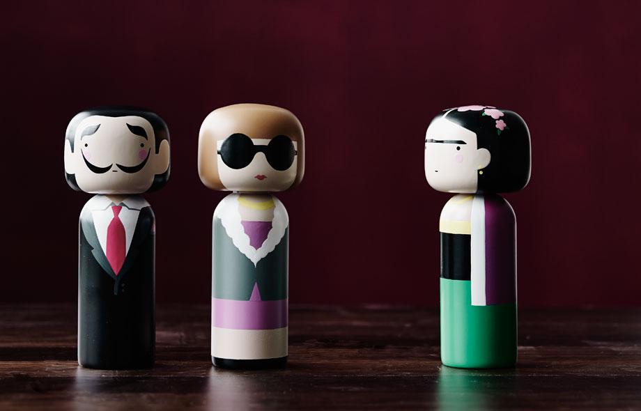 Las muñecas japonesas de Sketch Inc: Un objeto de decoración único.