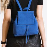 Suede Mini BOO Backpack ROYAL