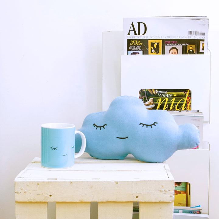 Kit Regalo Nube Azul + Taza