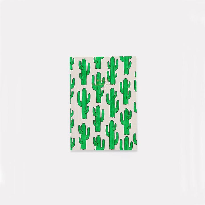 Cuaderno Cactus A6