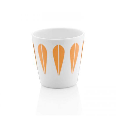 Set 6 Tazas Lotus Naranja - Arne Clausen