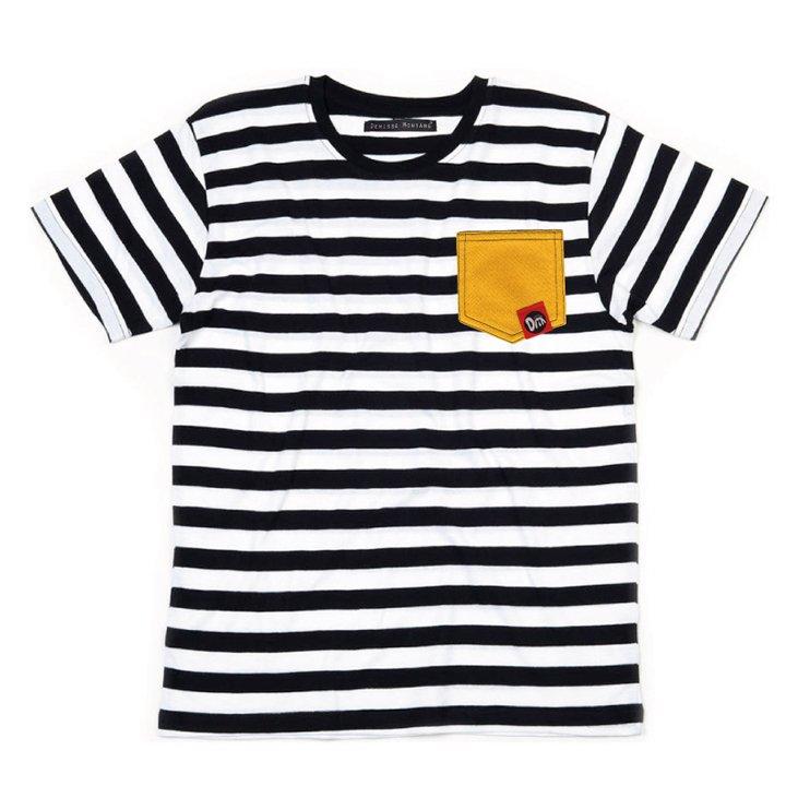 Camiseta YELLOW POCKET Denisse Montáre