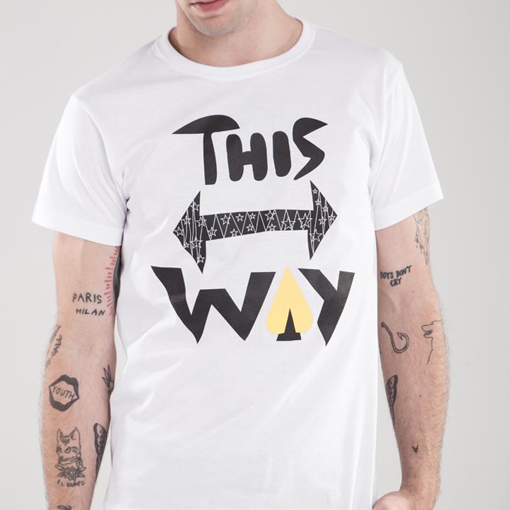 Camiseta THIS WAY Denisse Montáre