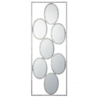 Espejo Piezas Ovaladas Metal