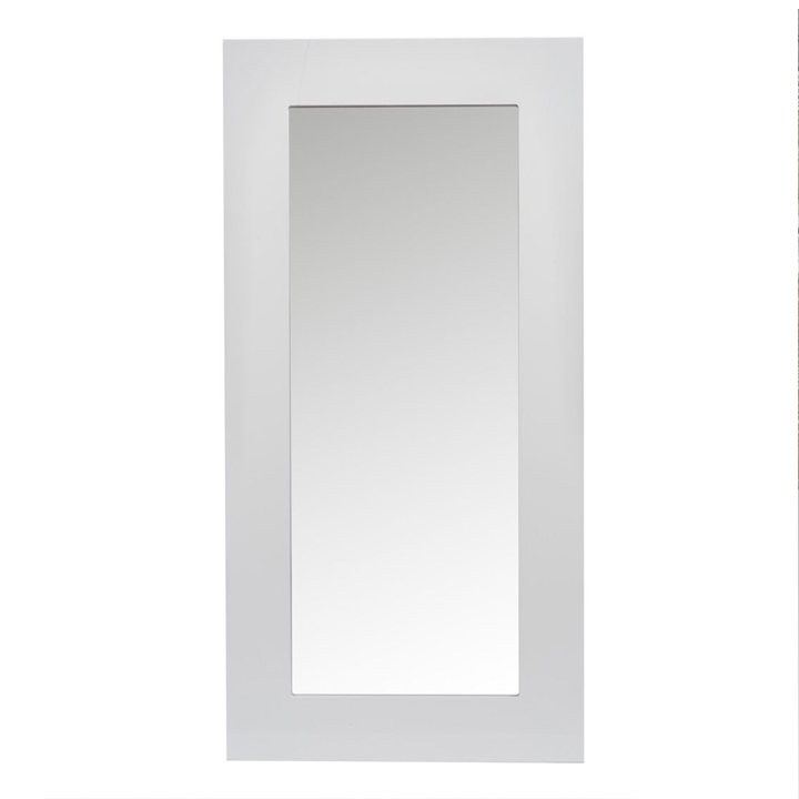 Espejo Lacado Madera Blanco