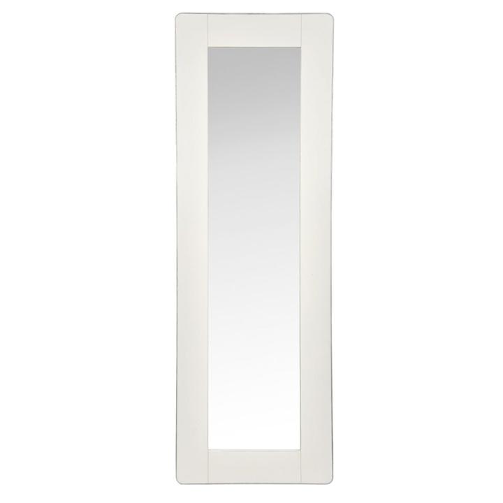 Espejo Madera y Zinc Blanco