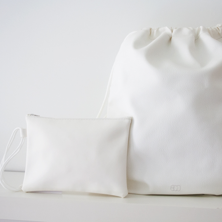 Pack Boopack White & Wristlet
