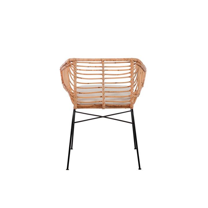 Set 2 sillas terraza mimbre muebles gourmandise - Sillas de mimbre ...