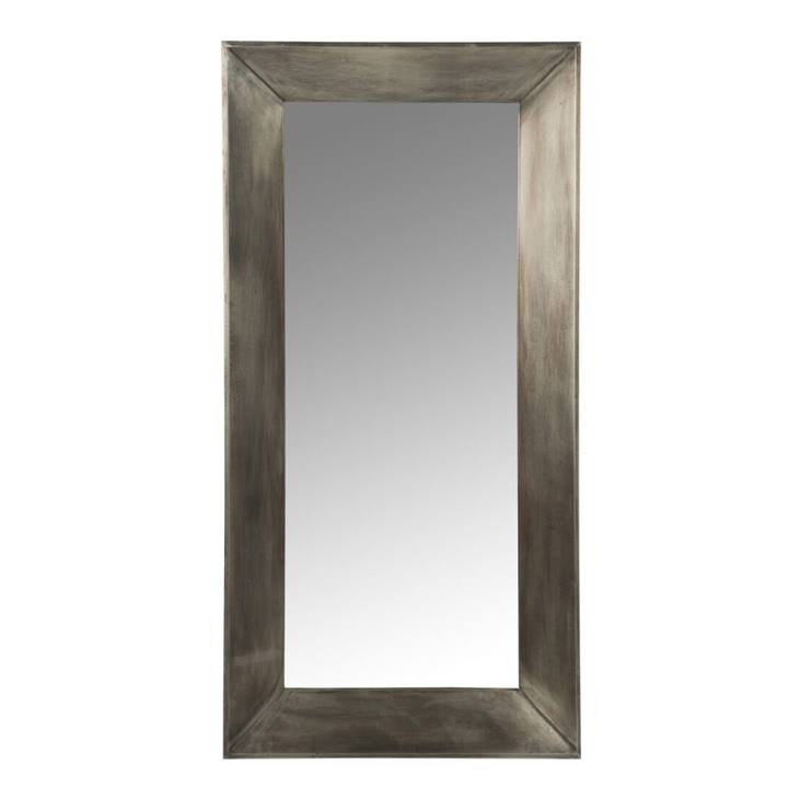 Espejo Rectangular Madera y Metal