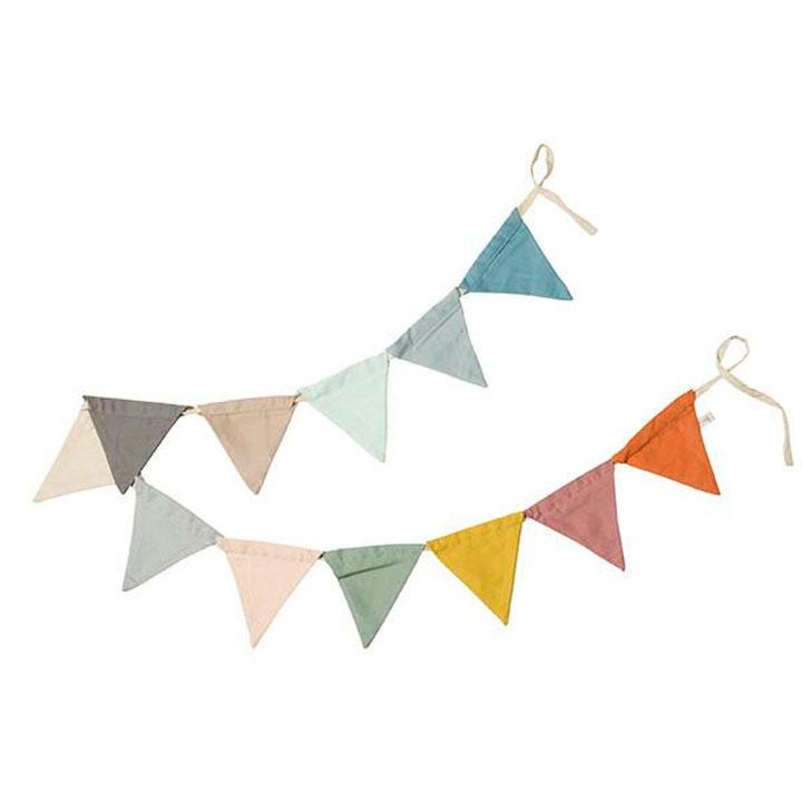 Guirnalda Banderines Multicolor