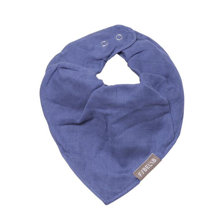 Babero Bandana Azul oscuro