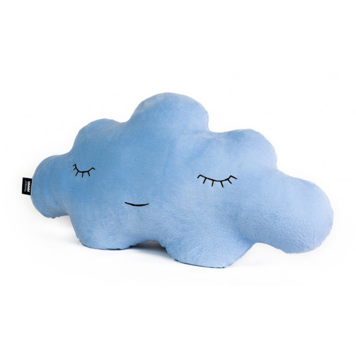 Cojín Nube Suave Azul L