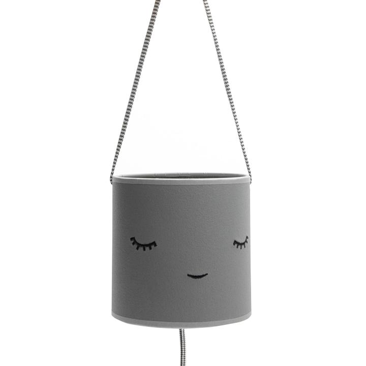 Lámpara Infantil Criaturas Gris Ecopiel