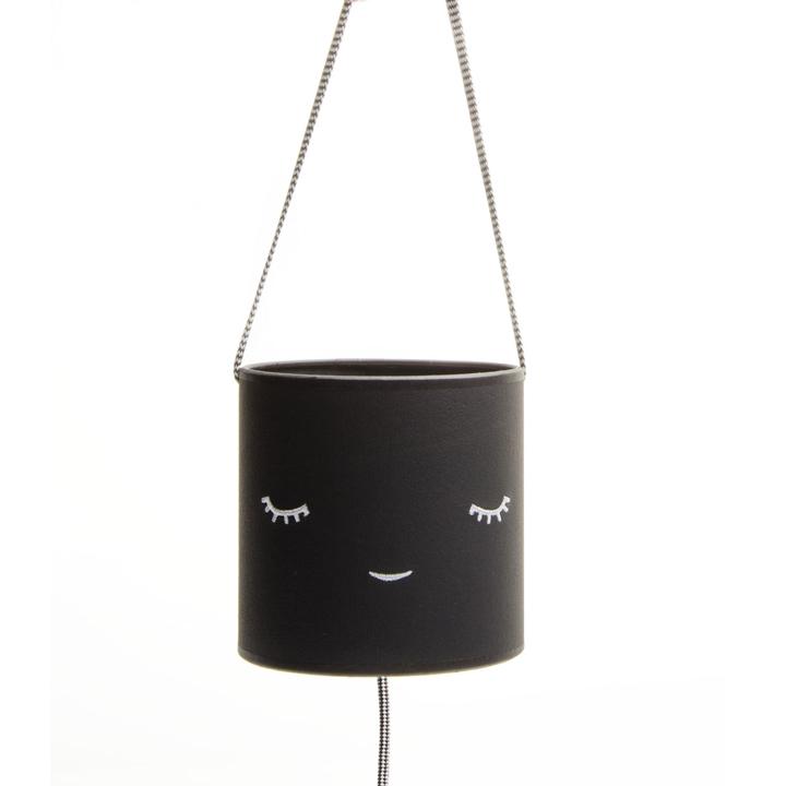 Lámpara Infantil Criaturas Negro Ecopiel