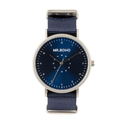 Reloj Iron Blue Casual Metalic - Mr. BOHO