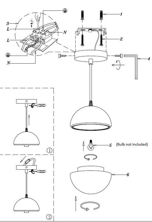Macaroon Pendant Lamp