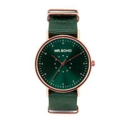 Reloj Cooper Green Casual Metalic Mr BOHO