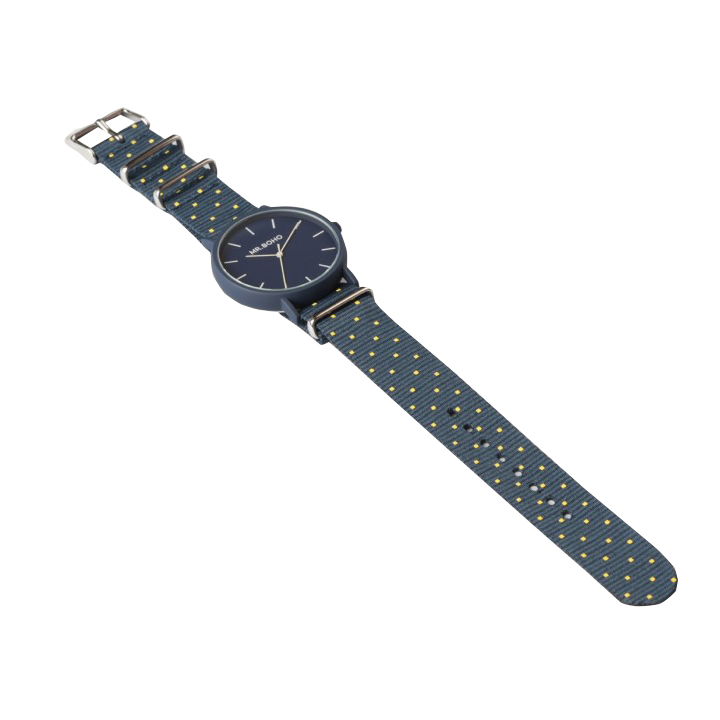 Blue and Yellow Gomato Watch