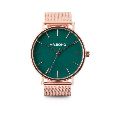 Reloj Cooper Green Metallic - Mr. BOHO