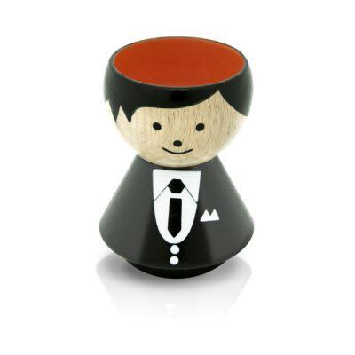 BORDFOLK Egg Cup Boy Suit