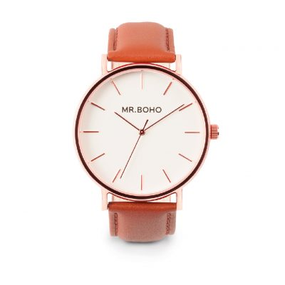 Mr. Boho Copper Cowhide Watch