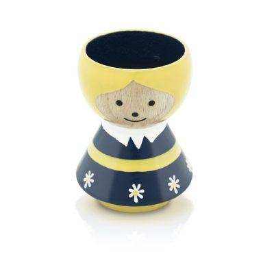 BORDFOLK Egg Cup Girl Blue