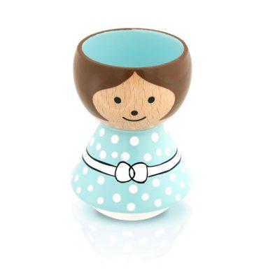 BORDFOLK Egg Cup Girl Mint Green