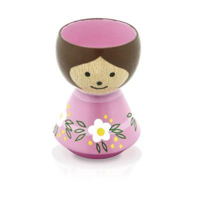 BORDFOLK Egg Cup Girl Pink