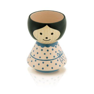 BORDFOLK Egg Cup Girl Rose