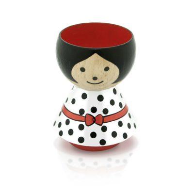 BORDFOLK Egg Cup Girl White