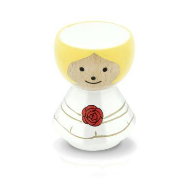BORDFOLK Egg Cup Girl Wedding
