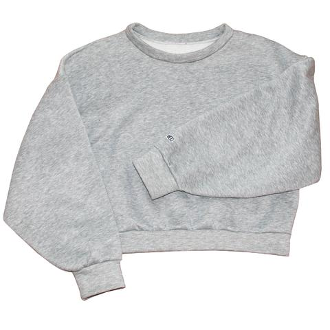 BOO SWEATER GREY