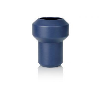 Florero Fumario Azul