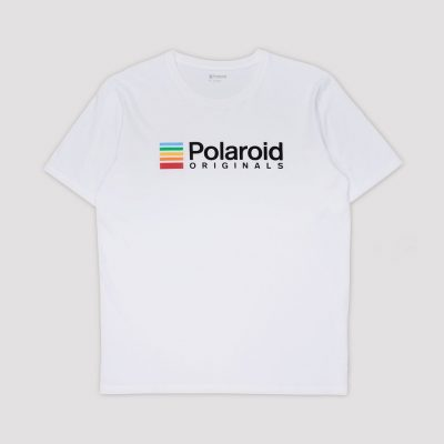 Camiseta Polaroid Originals Blanca