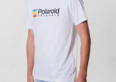 Camiseta Polaroid Originals Blanca_2