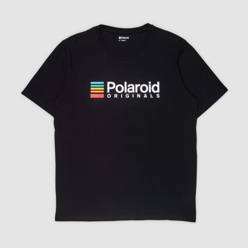 Camiseta Polaroid Originals Negra